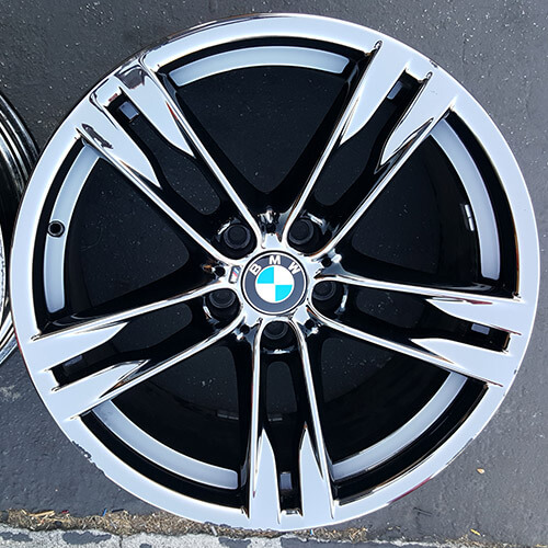 "20"" 2013 BMW 6 SERIES OEM FACTORY WHEELS RIMS ONLY (USED)"