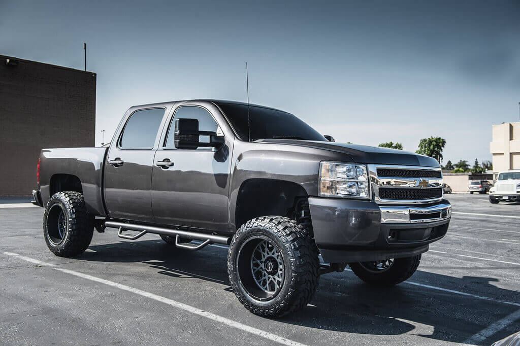 07 13 Chevy Silverado 1500 20x12 Wheels Tires Suspension Package Deal Pkg067