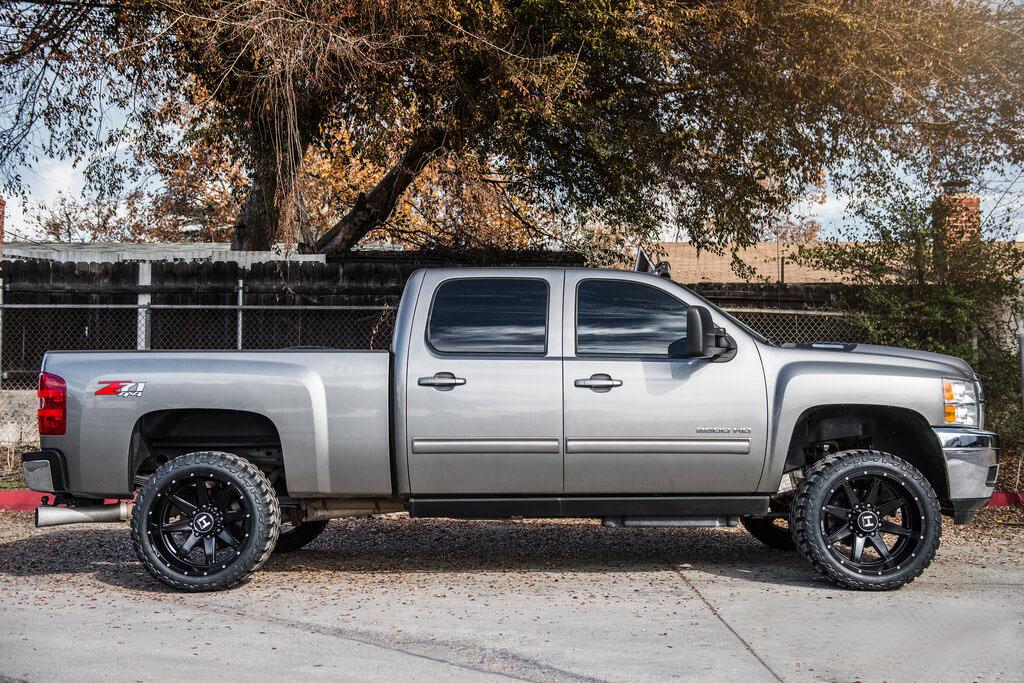 """2012 Chevrolet Silverado 2500 HD 22X12"""" Wheels + Tires ..."""