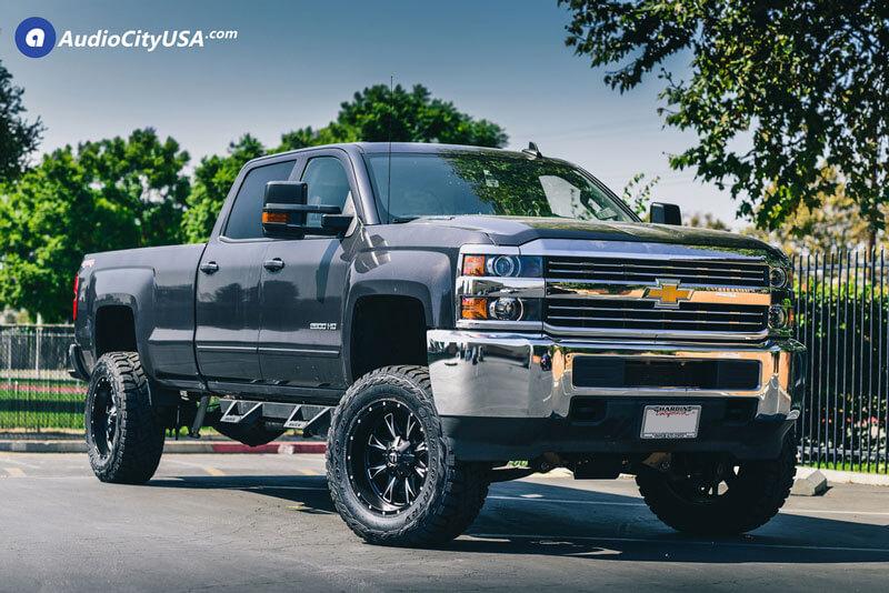 Chevorlet Silverado Wheels+Tires+Suspension Package Deal