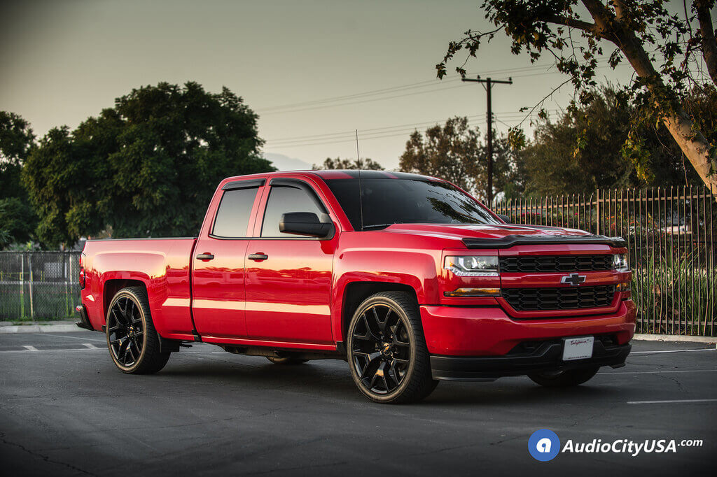 Chevy Silverado Sierra Replica Gloss Black Max Trac Lowering Suspension Kit Audiocityusa on Suspension 2000 Lincoln
