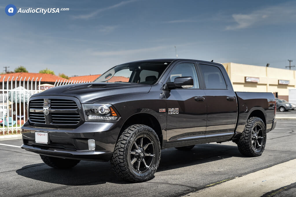 Dodge Ram 1500 Wheels And Tires Packages >> 13 17 Dodge Ram 1500 20x9 Wheels Tires Suspension Package Deal