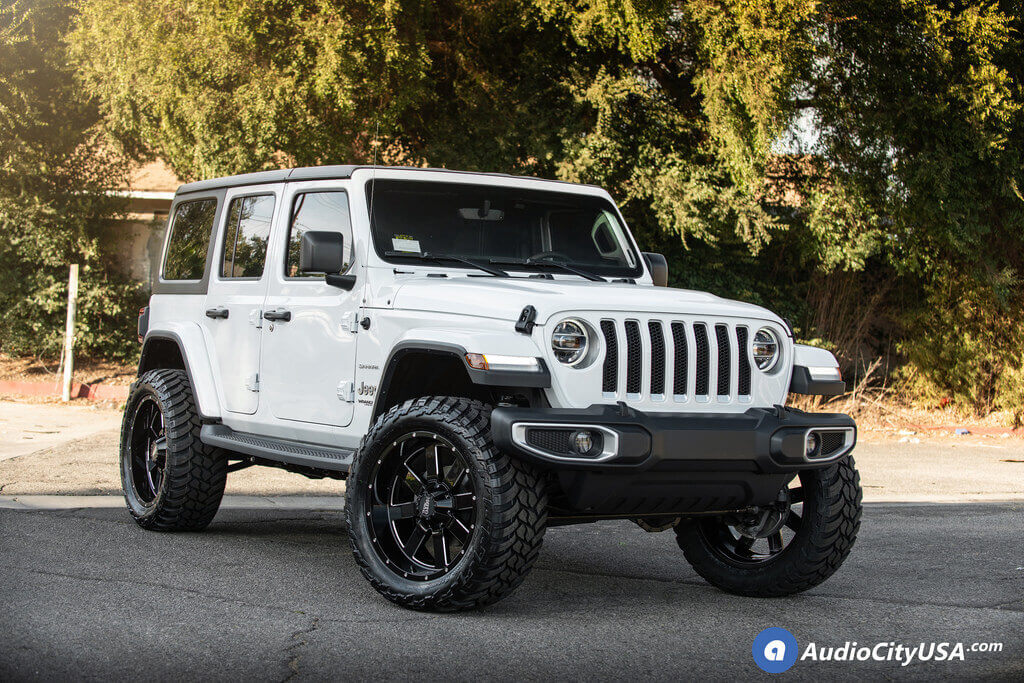Tires For Jeep Wrangler >> 2018 Jeep Wrangler Jl Unlimited 22x10 Wheels Tires