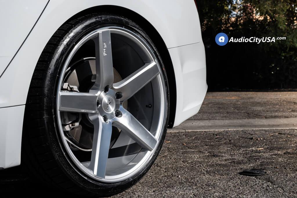 niche wheels milan m135 rims audi a5 staggered machined audiocityusa tires machine nankang