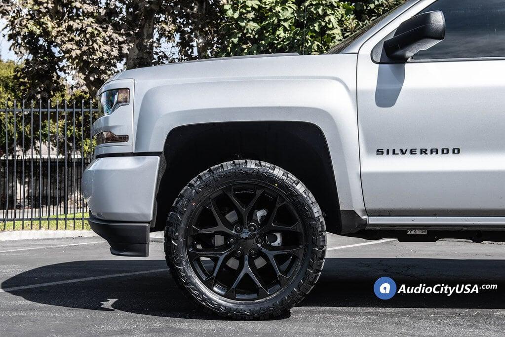 """07-18 Chevy Silverado 1500 22x9"""" Wheels + Tires ..."""
