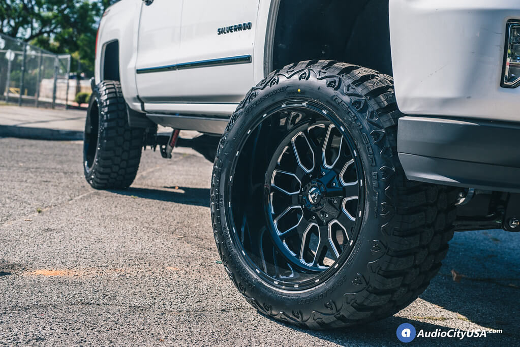 "2011 Chevrolet Silverado 1500 20x12"" Wheels+Tires+Suspension Package Deal (CLONE)"