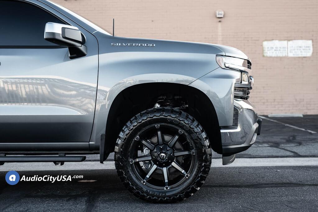 """07-20 Chevy Silverado 1500 20x10"""" Wheels + Tires ..."""