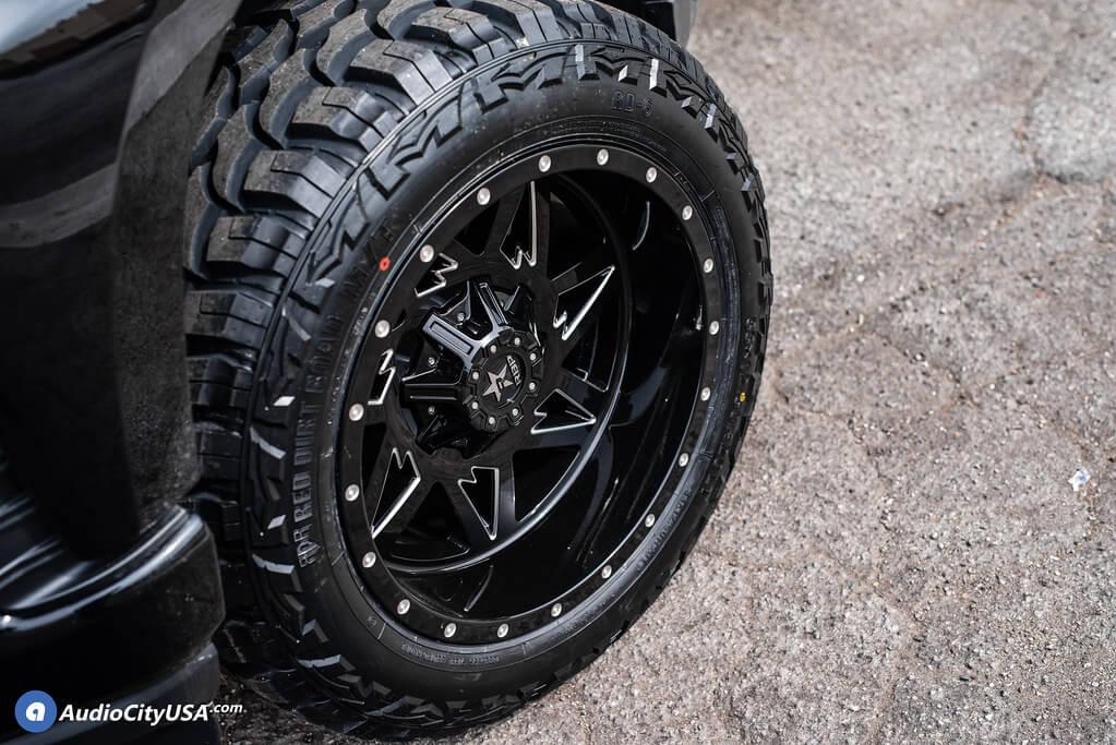 """2019 Chevrolet Silverado 20x12"""" Wheels+Tires+Suspension Package Deal"""