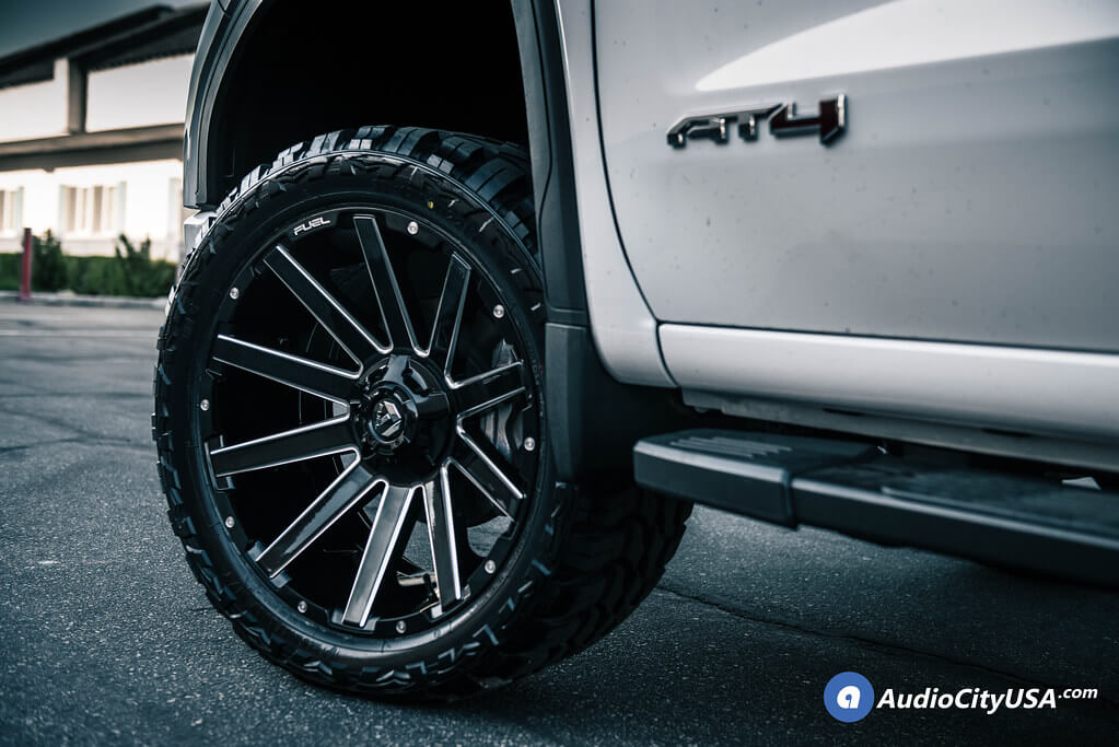 "2019 GMC Sierra 1500 AT4 22x10"" Wheels+Tires+Suspension Package Deal"
