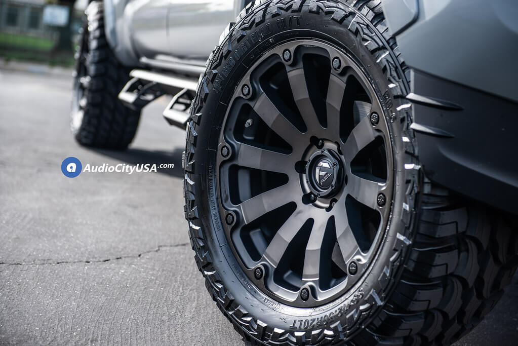 Fuel Wheels 20X9 >> 04 20 Toyota Tacoma 20x9 Wheels Tires Suspension Package Deal