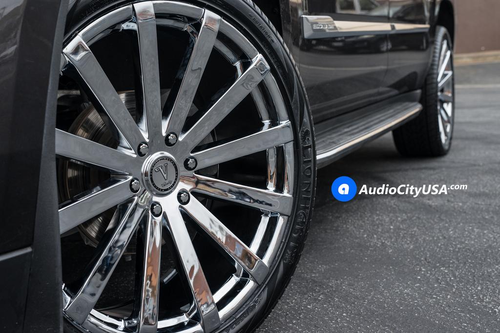 "26"" Velocity Wheels VW12 Chrome Rims #VC018-6"