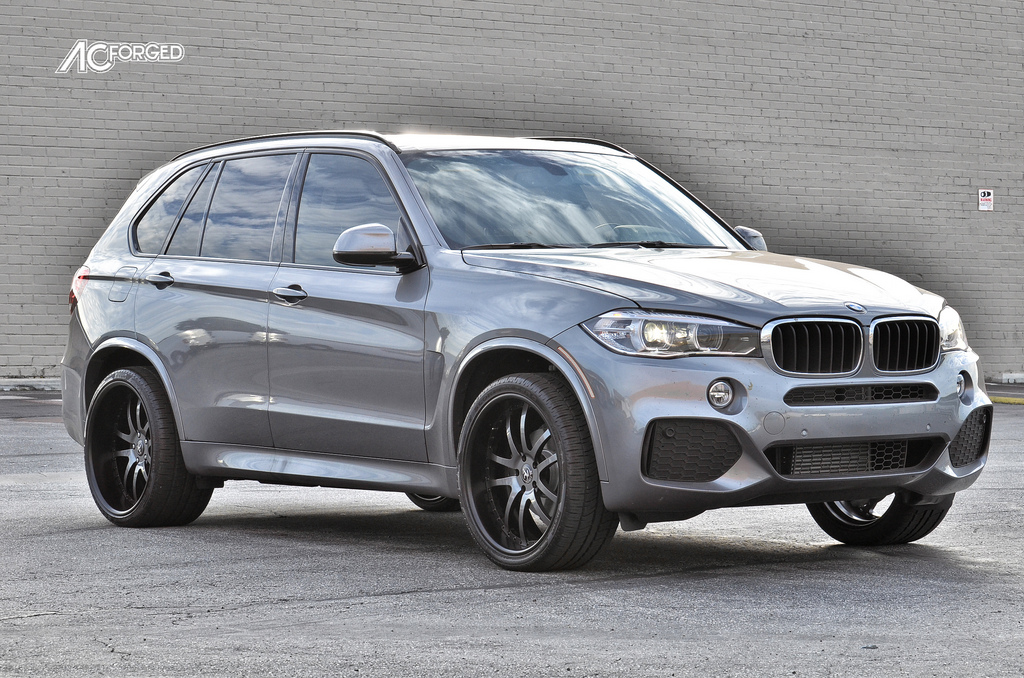 2014 BMW X5 On 22 AC Forged 312 Custom Finish