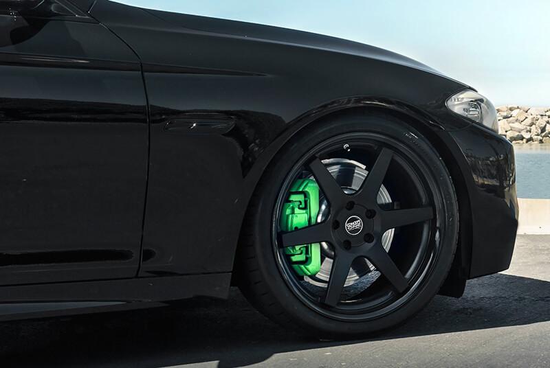 20 Quot Staggered Concept One Wheels Cs 6 Concave Matte Black Rims One004 2
