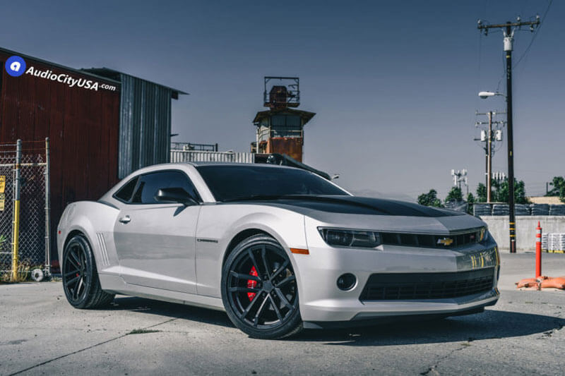 "20"" Staggered Chevy Camaro ZL1 Wheels FR 41 Satin Black ..."