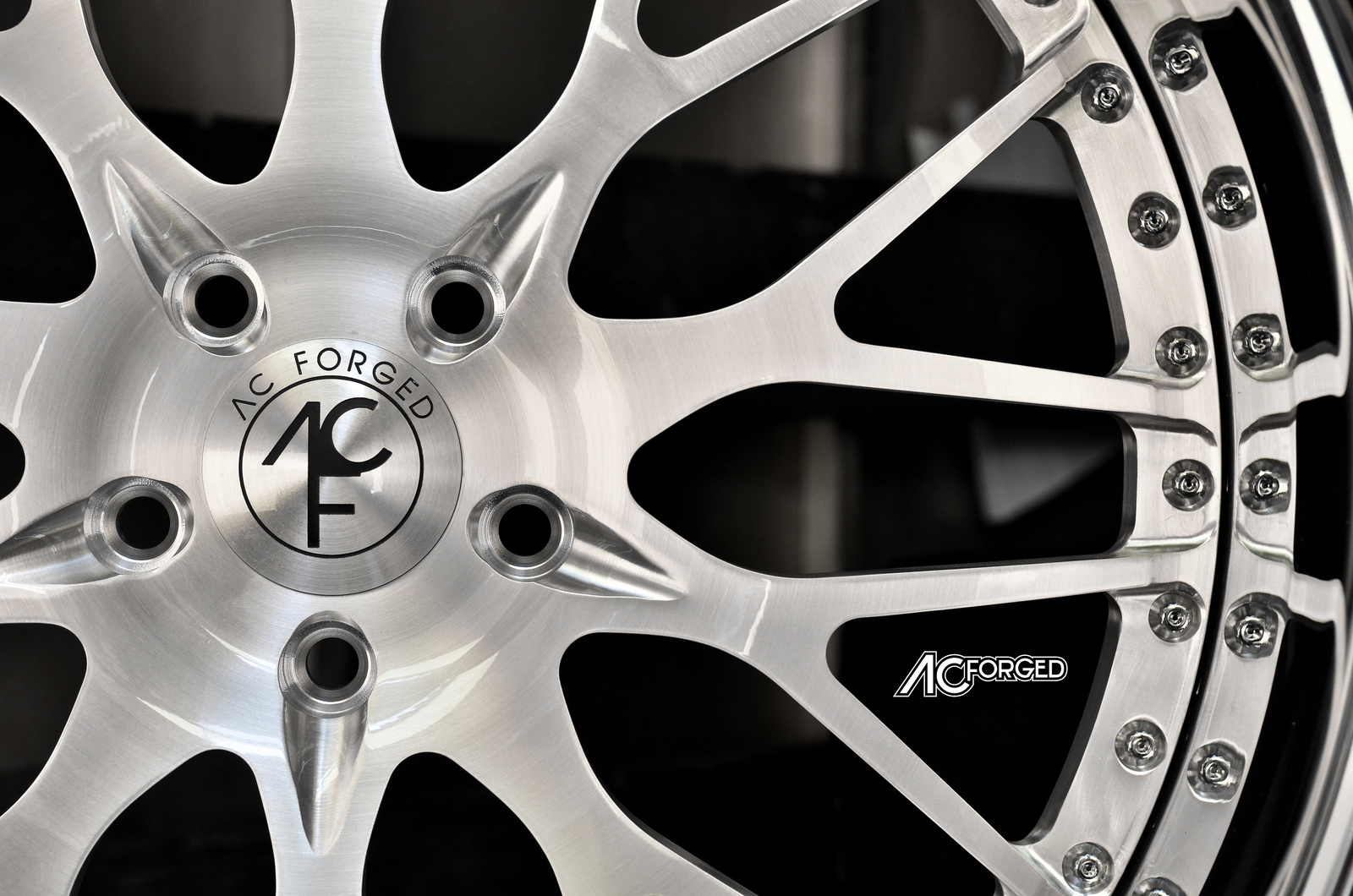 AC Forged 313 brush face chrome lip 3-piece forged