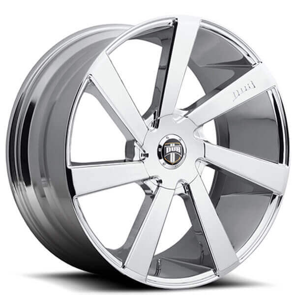 "20"" Dub Wheels Directa S132 Chrome Rims"