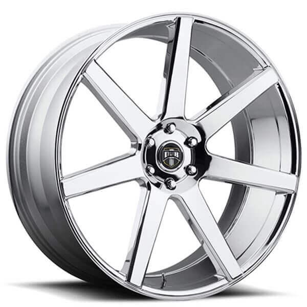 "22"" Dub Wheels Future S126 Chrome Rims"
