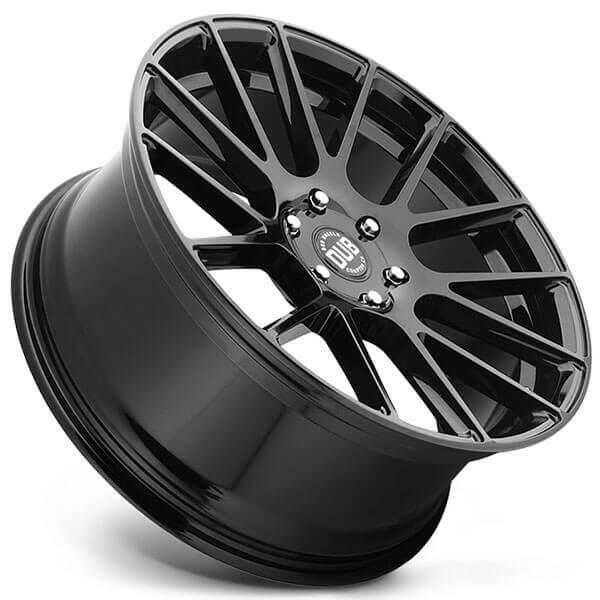 "24"" Dub Wheels Luxe S205 Gloss Black Rims"