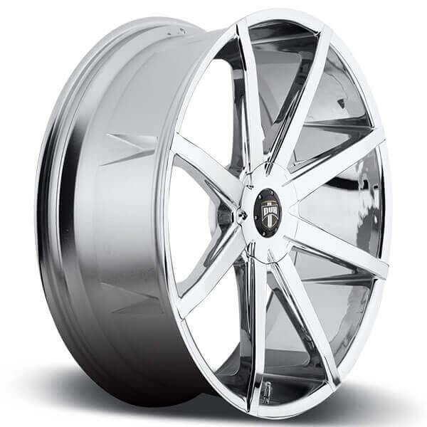 """24"""" Dub Wheels Push S111 Chrome Rims"""