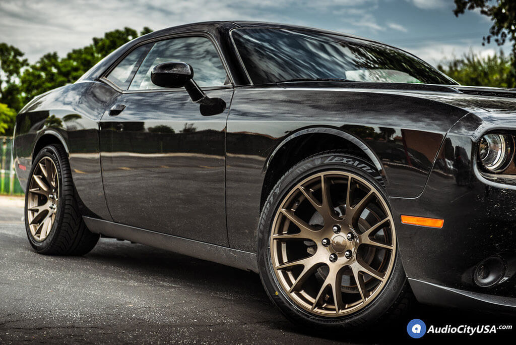 20 Quot Staggered Dodge Challenger Hellcat Wheels Fr 70 Bronze
