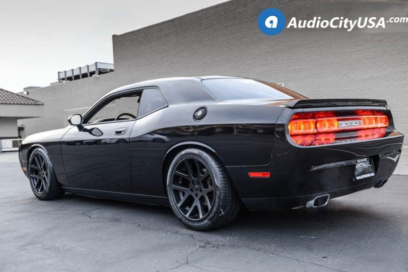 22 Quot Staggered Dodge Lx Viper Wheels Satin Black Oem