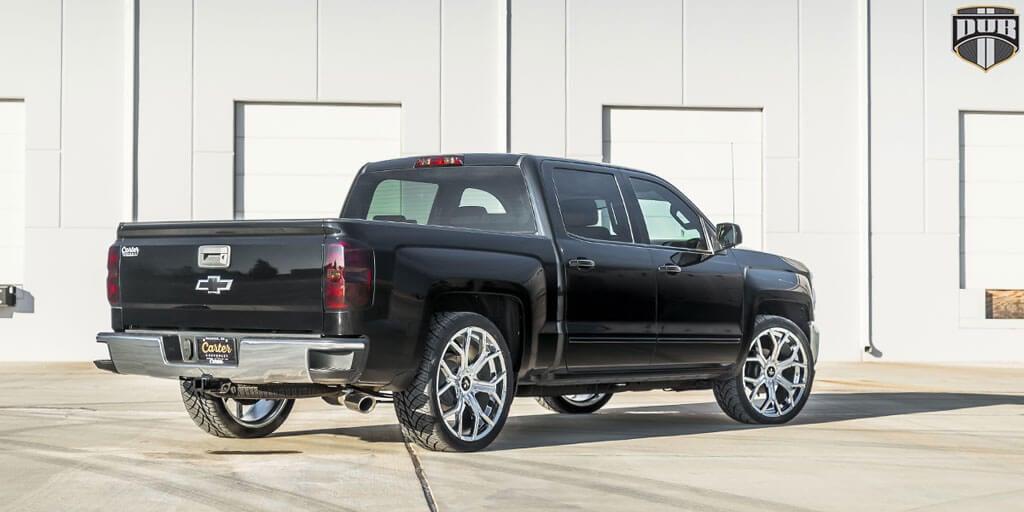 "22"" Dub Wheels Royalty S207 Chrome Rims"