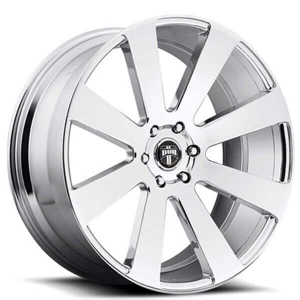 """22"""" Dub Wheels 8 Ball S131 Chrome Rims"""