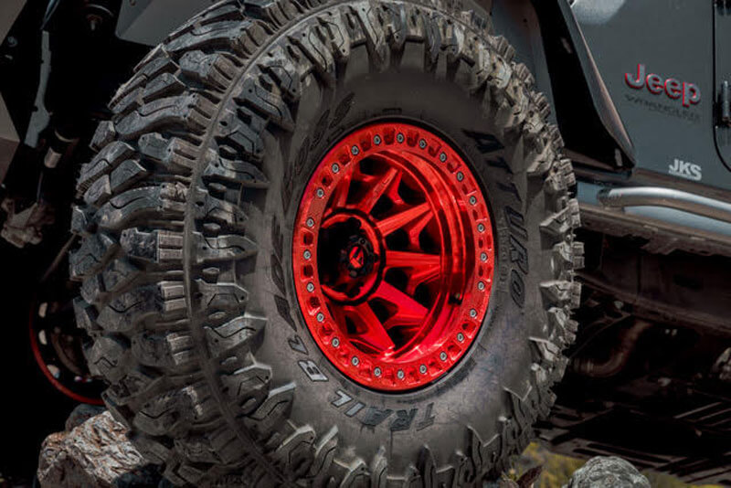 17 Quot Fuel Wheels D113 Covert Beadlock Candy Red Off Road