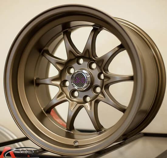"Dodge Lift Kits >> 15"" 17"" JNC Wheels Rims 003 Gold JDM Style #G005D"