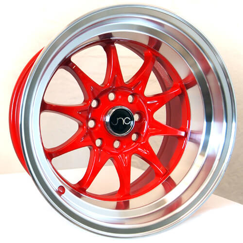 15 U0026quot  17 U0026quot  Jnc Wheels Rims 003 Red Jdm Style  G005g