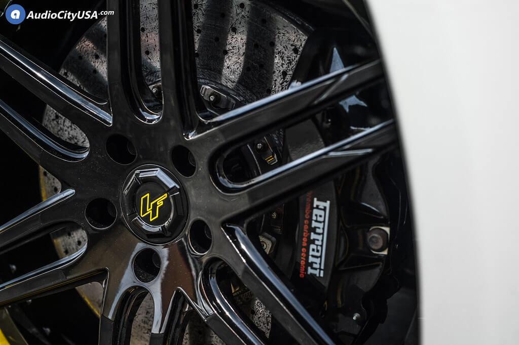 "22"" Staggered Lexani Forged Wheels LF-Sport LZ-107 Custom Finish Forged Rims"
