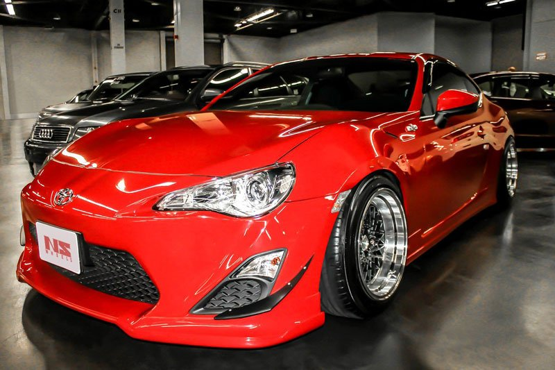 NS Wheels Drift MDV2 Silver with Polished Lip Rims