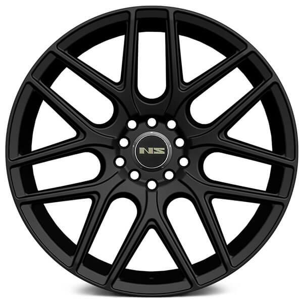NS Wheels Tunner NS1502 Matte Black Rims