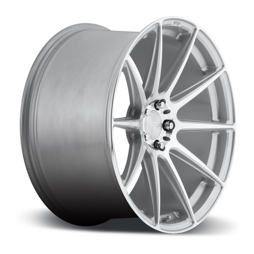 """20"""" Staggered Niche Wheels M146 Essen Silver Machined Rims"""