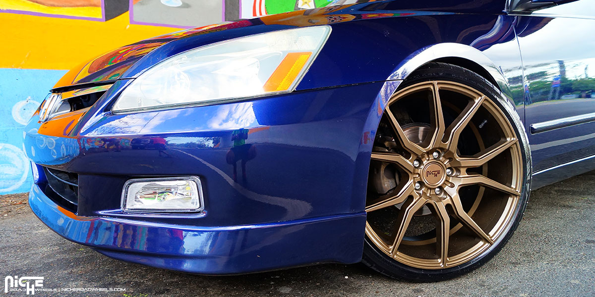 20 Quot Staggered Niche Wheels M167 Ascari Bronze Rims Nc063 2
