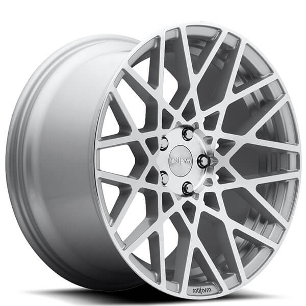 20 staggered rotiform wheels r110 blq silver machined. Black Bedroom Furniture Sets. Home Design Ideas