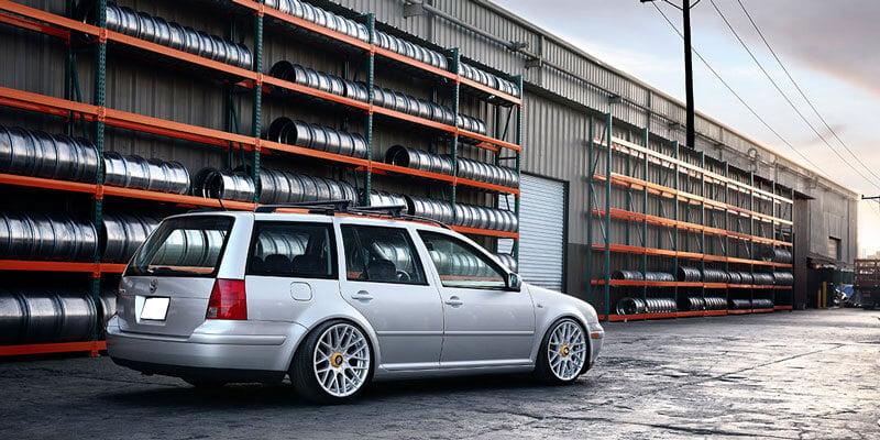 "18"" Rotiform Wheels R140 RSE Silver Rims"