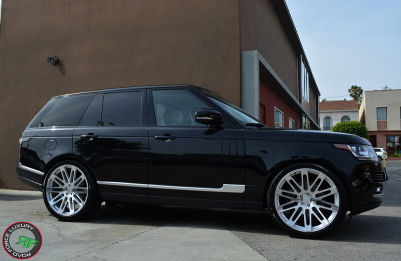 "24"" Road Force Wheels RF24 Silver Rims For G-Wagon & Range Rover #RF009-1"