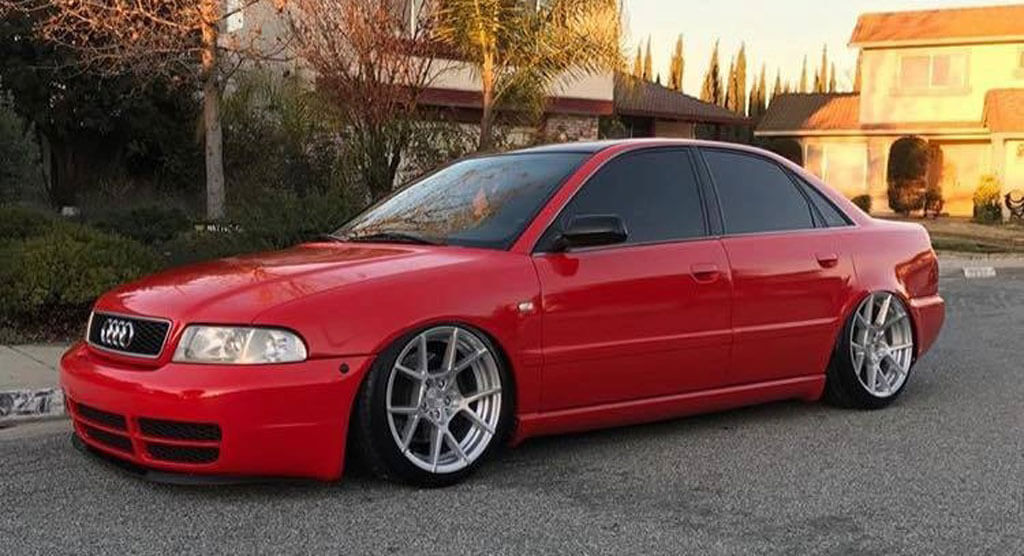 """18"""" Rotiform Wheels R138 KPS Silver with Brushed Face Rims"""