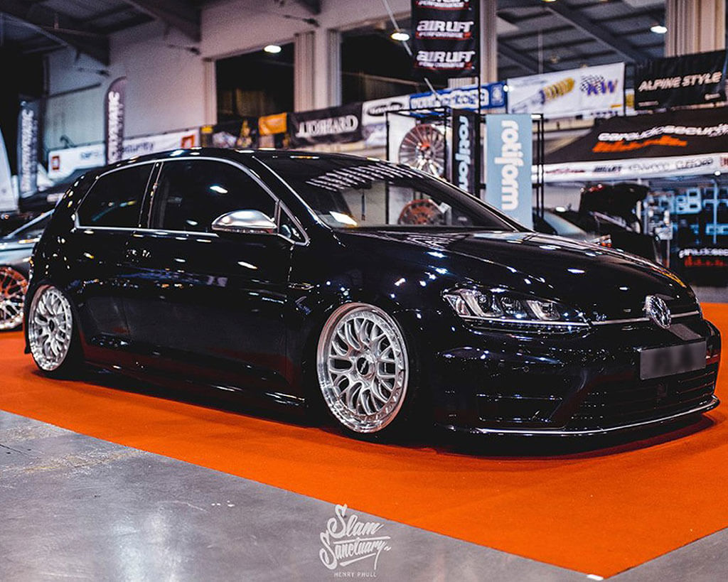 staggered rotiform wheels  lsr silver  machined lip rims rtf