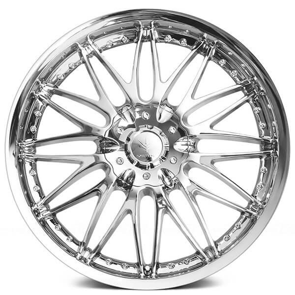 16 u0026quot  verde wheels v41 regency chrome rims  vd037