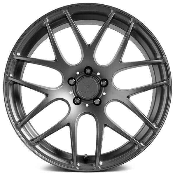 19 Verde Wheels V44 Empire Matte Graphite Rims Vd040 3