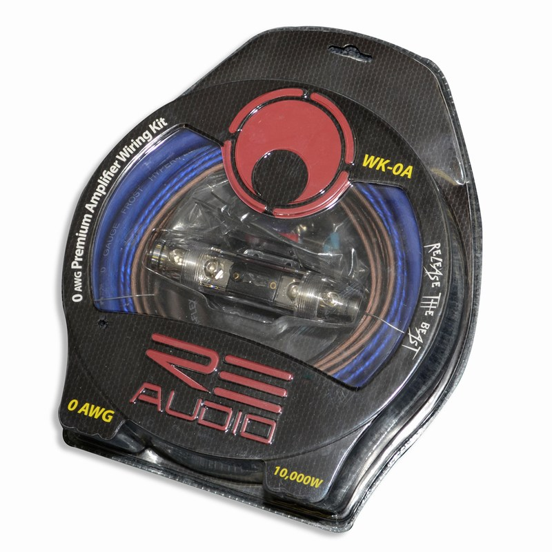 re audio re connect series amplifier wiring kit 0 gauge 2 channel rh audiocityusa com