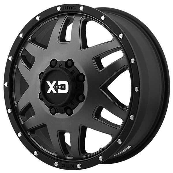 "17"" XD Wheels XD130 Machete Dually Satin Black Off-Road ..."
