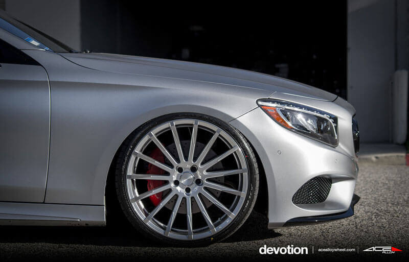 Acealloy Wheels Devotion Silver With Machined Face Rims Audiocityusa on Suspension 2000 Lincoln