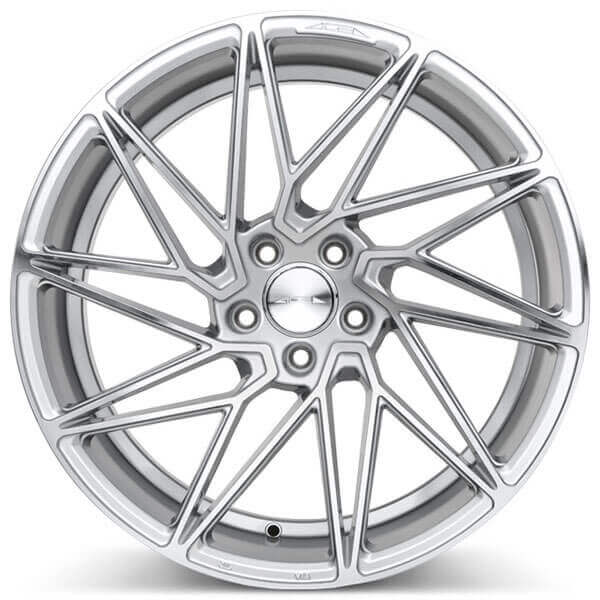 "19"" Ace Alloy Wheels Driven Silver with Machined Face Rims"