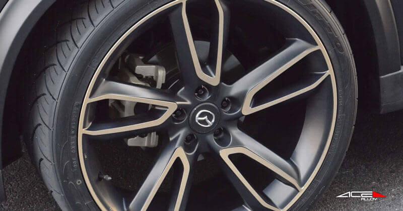"Dodge Lift Kits >> 22"" Ace alloy Wheels Scorpio Matte Black Machined Face ..."