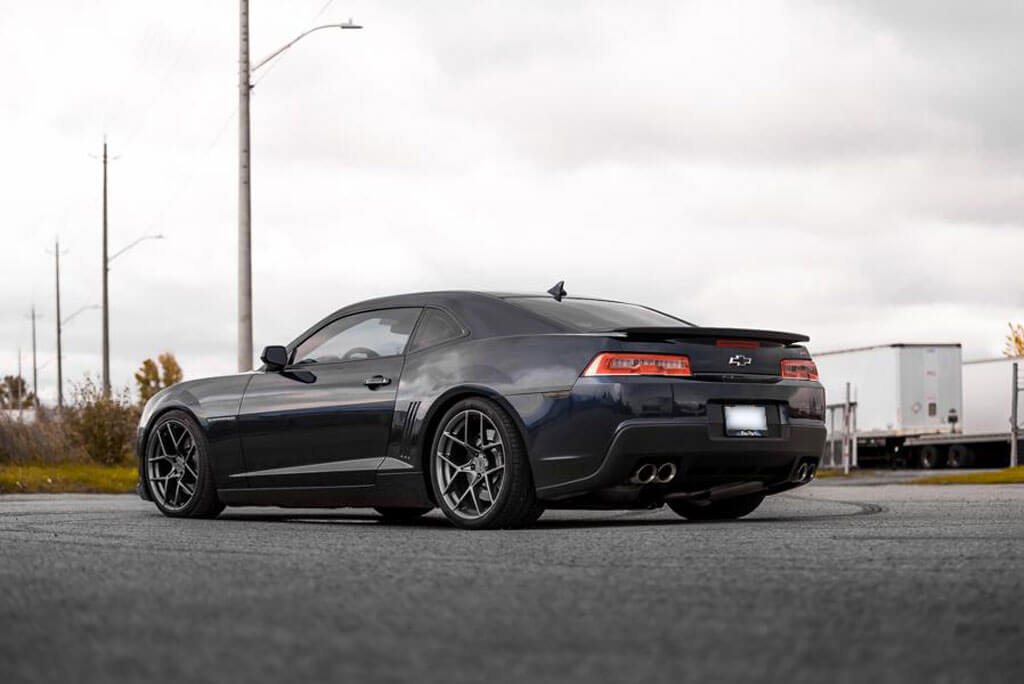 """19"""" Staggered American Racing Wheels AR924 Crossfire Satin ..."""