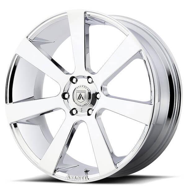"24"" Asanti Wheels ABL-15 Apollo Chrome Rims"