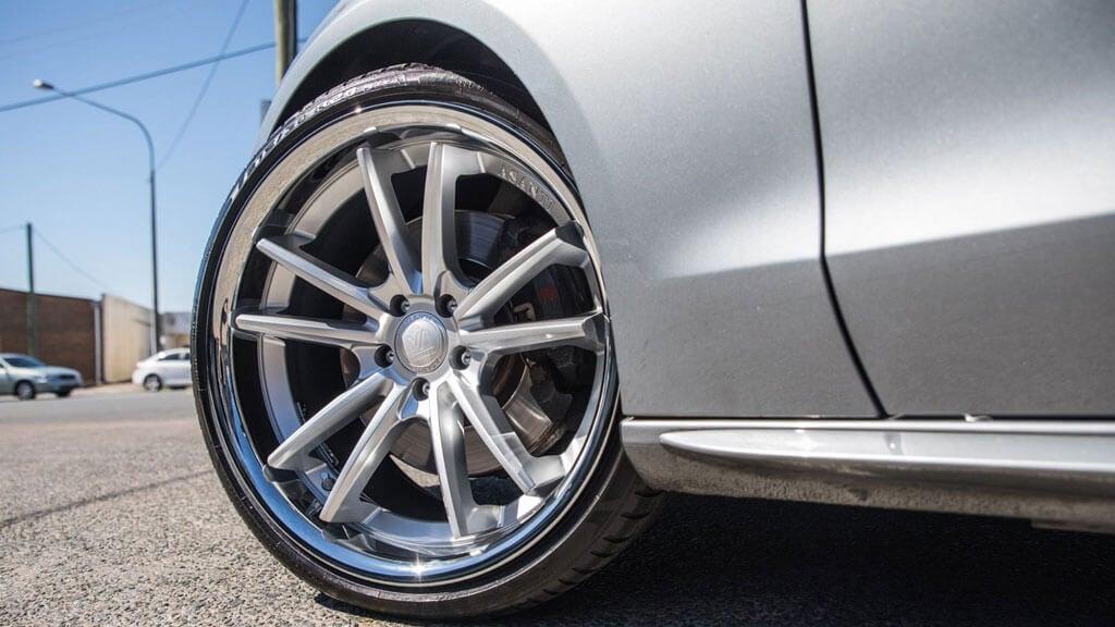 asanti 23 abl wheels chrome sigma rims brushed silver lip staggered audiocityusa wheel
